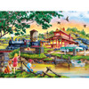 Country Escapes - Apple Express - 550 Piece Linen Jigsaw Puzzle