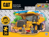 Caterpillar Dump Truck - 36 Piece Kids Shaped Floor Puzzle