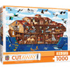 1000pc EZGrip Cut-Aways Noah's Ark Large 1000 Piece Jigsaw Puzzle