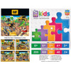 Caterpillar Day at the Quarry - Construction Trucks 60 Piece Kids Puzzle