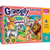 Googly Eye Right Fit - Zoo Animals 48 Piece Jigsaw Puzzle