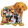 Shaped Right Fit - Puppy Pals 100 Piece Kids Puzzle