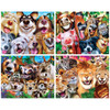 4-Pack - Selfies 100 Piece Jigsaw Puzzle