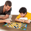 Caterpillar Checkers Board Game