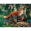 Hidden Images Glow in the Dark The Woodlands - Fox 550 Piece Jigsaw Puzzle