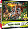 Hidden Images Glow in the Dark Jungle Pride - Bengal Tigers 500 Piece Jigsaw Puzzle