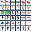 Denver Broncos NFL Matching Game