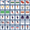 New England Patriots NFL Matching Game