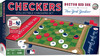 Boston Red Sox vs New York Yankees Rivalry Checkers Board Game