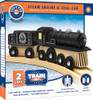 Lionel Collector's Steam Engine and Coal Car Wood Train Set