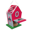 Ohio State NCAA Birdhouse