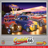 Cruisin' Route 66 - Friday Night Hot Rods - 1000 Piece Jigsaw Puzzle