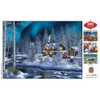 Holiday - Northern Lights 500 Piece Glitter Jigsaw Puzzle
