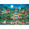 Halloween The Tag Along 1000 Piece Jigsaw Puzzle by Bonnie White