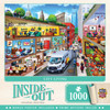 Inside Out - City Living - 1000 Piece Jigsaw Puzzle