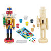 Nutcracker Father Christmas Holiday Wood Paint Kit