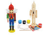 Lumberjack Nutcracker Ornament Wood Paint Kit
