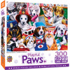 Playful Paws - Essential Workers - Large 300 Piece EZGrip Jigsaw Puzzle by Jenny Newland