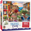 Travel Diary - Italian Afternoon 550 Piece Puzzle
