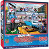 Drive-Ins, Diners and Dives - Rock & Rolla Diner 550 Piece Puzzle