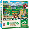 Hometown Gallery - The Peddler 1000 Piece Puzzle