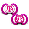 Texas A&M 2-Pack Pacifier Pink