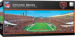 Chicago Bears 1000 Piece Stadium Panoramic Jigsaw Puzzle