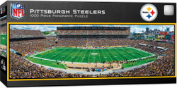 Pittsburgh Steelers 1000 Piece Stadium Panoramic Jigsaw Puzzle