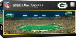 Green Bay Packers 1000 Piece Stadium Panoramic Jigsaw Puzzle