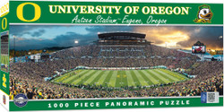 Oregon Ducks 1000 Piece Stadium Panoramic Jigsaw Puzzle