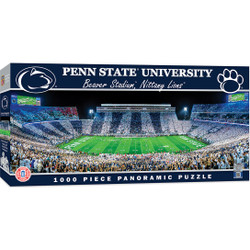 Penn State Nittany Lions 1000 Piece Stadium Panoramic Jigsaw Puzzle