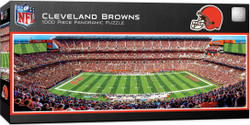 Cleveland Browns 1000 Piece Stadium Panoramic Jigsaw Puzzle