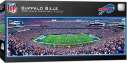 Buffalo Bills 1000 Piece Stadium Panoramic Jigsaw Puzzle
