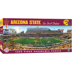 Arizona State Sun Devils 1000 Piece Stadium Panoramic Jigsaw Puzzle