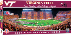 Virginia Tech Hokies 1000 Piece Stadium Panoramic Jigsaw Puzzle
