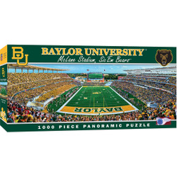 Baylor Bears 1000 Piece Stadium Panoramic Jigsaw Puzzle