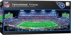Tennessee Titans 1000 Piece Stadium Panoramic Jigsaw Puzzle