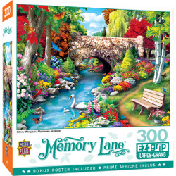 Memory Lane Willow Whispers - Large 300 Piece EZGrip Jigsaw Puzzle by Alan Giana