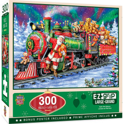 Holiday North Pole Delivery 300 Piece EZ Grip Puzzle