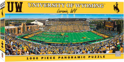 Wyoming Cowboys 1000 Piece Stadium Panoramic Puzzle