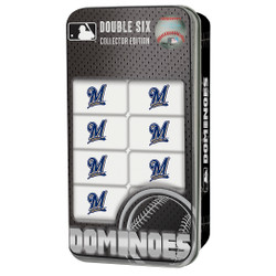 Milwaukee Brewers Double-Six Dominoes