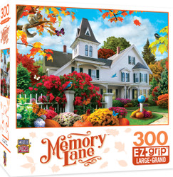 Memory Lane October Skies Large 300 Piece EZGrip Jigsaw Puzzle by Alan Giana