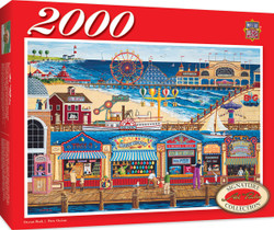 Signature Series Ocean Park 2000 Piece Jigsaw Puzzle by Art Poulin