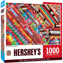 Hershey's Sweet Tooth Fix 1000 Piece Jigsaw Puzzle