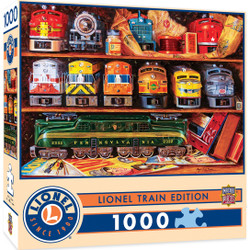 Lionel Trains - Well Stocked Shelves 1000 Piece Jigsaw Puzzle