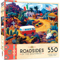 Roadsides of the Southwest - Touring Time - 550 Piece Jigsaw Puzzle