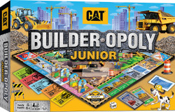 Caterpillar Opoly Junior Board Game