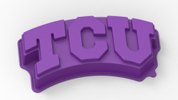Texas Christian University Horned Frogs Cake Pan with Stand