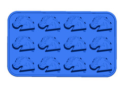 Boise State Bronco Ice Tray and Candy Mold