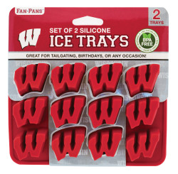 Wisconsin Badgers Ice Tray and Candy Mold